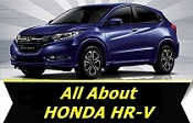 All About Honda HR-V